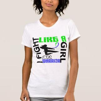 Lucha de la silueta como un chica EDS 3,2 Camisetas