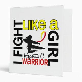 Lucha de la silueta como una hepatitis C 3 2 del c