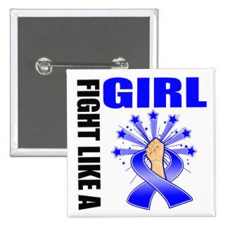 Lucha de la victoria del cáncer rectal como un chi pin