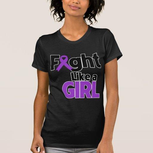Lucha de Leiomyosarcoma como un chica Camiseta