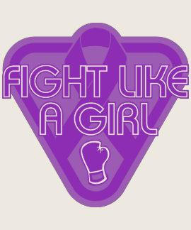 Lucha de Leiomyosarcoma como un guante del chica T Shirt