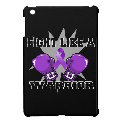 Lucha de Leiomyosarcoma como un guerrero