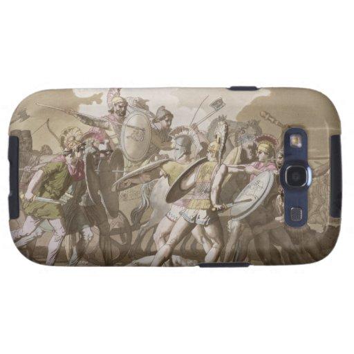 Lucha de los Griegos y de los Trojan sobre el cuer Galaxy S3 Carcasa