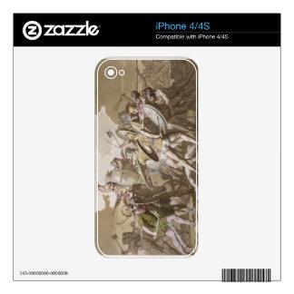 Lucha de los Griegos y de los Trojan sobre el cuer Skins Para iPhone 4S