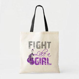 Lucha de los guantes del cáncer pancreático como u bolsa