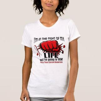 Lucha de mi cáncer de cabeza y cuello de la vida 2 camiseta