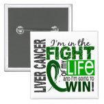 Lucha de mi cáncer de hígado de la vida pin