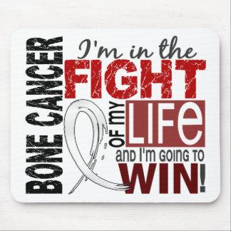 Lucha de mi cáncer de hueso de la vida tapete de ratones