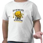 Lucha de mi cáncer de la niñez de la vida 2 camiseta