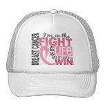Lucha de mi cáncer de pecho de la vida gorras de camionero