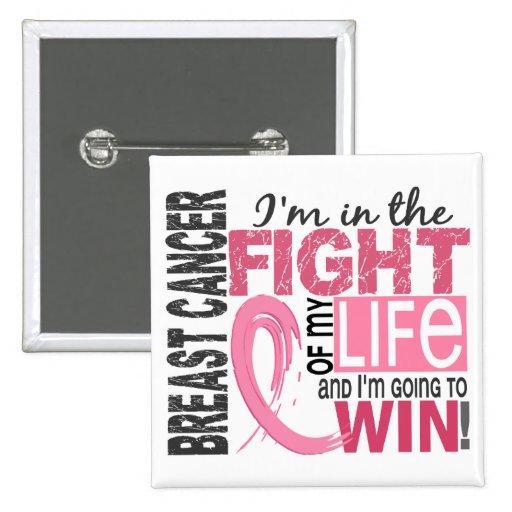 Lucha de mi cáncer de pecho de la vida pin