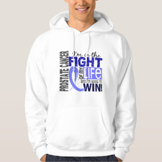 Lucha de mi cáncer de próstata de la vida pulóver con capucha