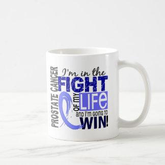 Lucha de mi cáncer de próstata de la vida taza clásica