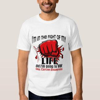 Lucha de mi cáncer oral de la vida 2 playera