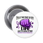 Lucha de mi cáncer pancreático de la vida 2 pins