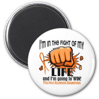 Lucha de mi esclerosis múltiple de la vida 2 iman de frigorífico