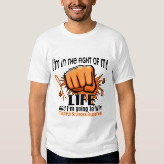 Lucha de mi esclerosis múltiple de la vida 2 playeras