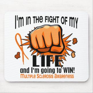 Lucha de mi esclerosis múltiple de la vida 2 tapete de ratón
