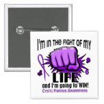 Lucha de mi fibrosis quística de la vida 2 pin