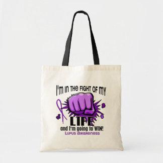 Lucha de mi lupus de la vida 2 bolsa tela barata