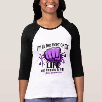 Lucha de mi lupus de la vida 2 camiseta