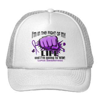 Lucha de mi lupus de la vida 2 gorro de camionero
