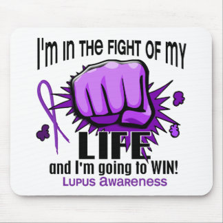 Lucha de mi lupus de la vida 2 tapete de raton
