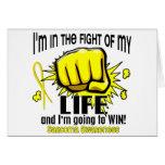 Lucha de mi sarcoma de la vida 2 felicitaciones
