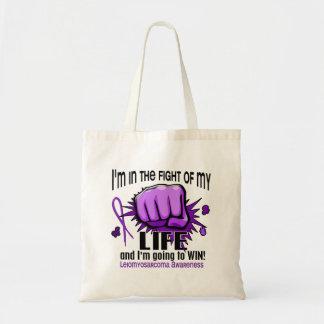 Lucha de mi vida 2 Leiomyosarcoma Bolsa Tela Barata