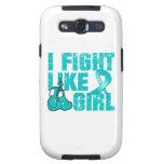 Lucha de PCOS I como un chica (Grunge) Samsung Galaxy S3 Protector
