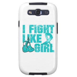 Lucha de PCOS I como un chica (Grunge) Samsung Galaxy SIII Funda