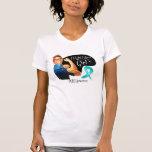 Lucha de PCOS I como un chica Rosie el remachador Camiseta