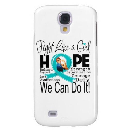 Lucha de PCOS podemos hacerla Funda Para Galaxy S4