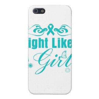 Lucha de PKD como un chica adornado iPhone 5 Protector