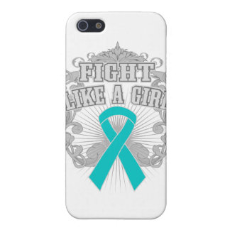 Lucha de PKD como un chica Fleurish iPhone 5 Coberturas