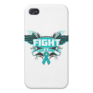 Lucha de PKD como un chica Wings.png iPhone 4/4S Funda