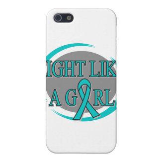 Lucha de PKD como una circular del chica iPhone 5 Cárcasa