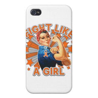 Lucha de Rosie del vintage de RSD como un chica iPhone 4 Coberturas
