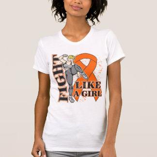 Lucha de RSD como un extremo de Kickin del chica Camisetas