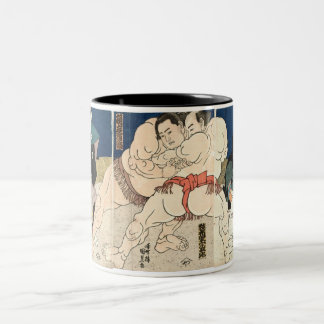 Lucha de sumo 1860 tazas de café