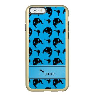 Lucha de sumo conocida personalizada del azul de funda para iPhone 6 plus incipio feather shine