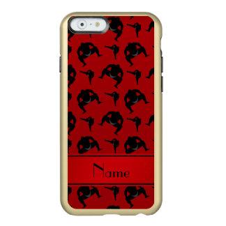 Lucha de sumo roja conocida personalizada funda para iPhone 6 plus incipio feather shine