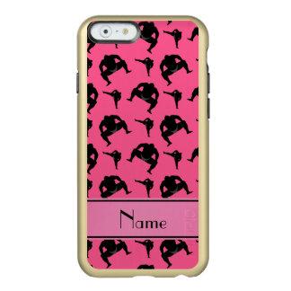 Lucha de sumo rosada conocida personalizada funda para iPhone 6 plus incipio feather shine