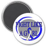 Lucha del ALS como una circular del chica Iman De Nevera