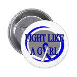 Lucha del ALS como una circular del chica Pin