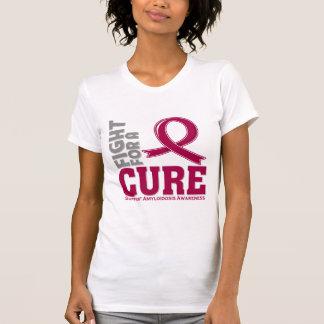 Lucha del Amyloidosis para una curación Tee Shirts
