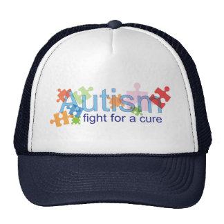 Lucha del autismo para un GORRA de la curación