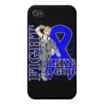 Lucha del cáncer de colon como un extremo del retr iPhone 4 cobertura