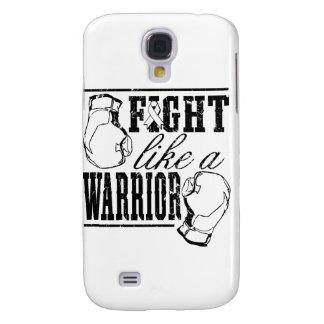 Lucha del cáncer de hueso como un guerrero