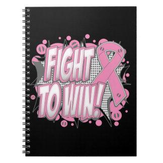 Lucha del cáncer de pecho a ganar libreta